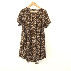 L&B Lucky & Blessed Leopard Dress